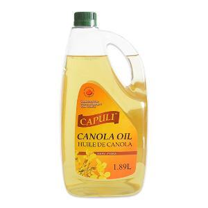卡普莉加拿大芥花籽油1.89L