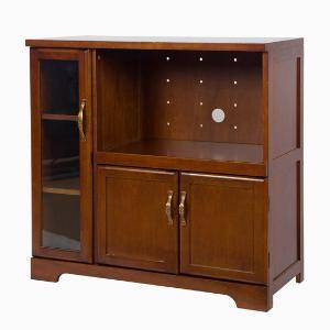 雅客集艾维斯美式全实木收纳柜碗盘柜茶水柜WN-16080WA