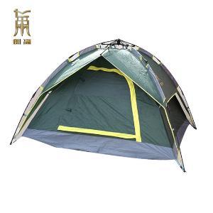 邦蒂豪华双层多人自动帐篷加赠