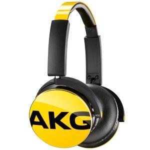 奥地利AKG/爱科技 Y50黄色重低音立体声便携头戴式耳机