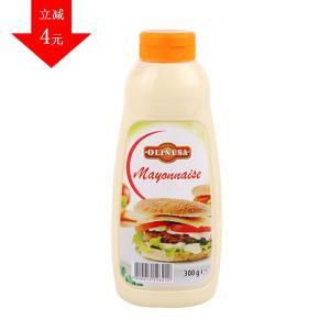 欧洲进口 Olinesa 欧利美食 蛋黄酱 300g