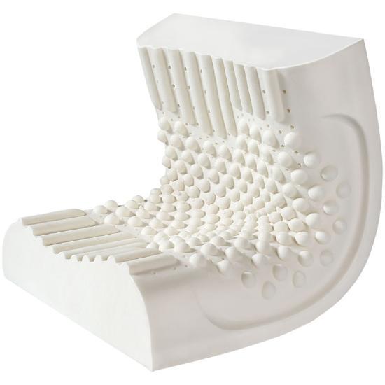 一梦天然乳胶枕芯简包一只装