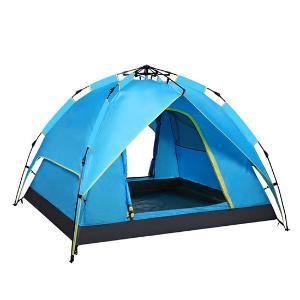 创悦双层可独立帐篷5909蓝色