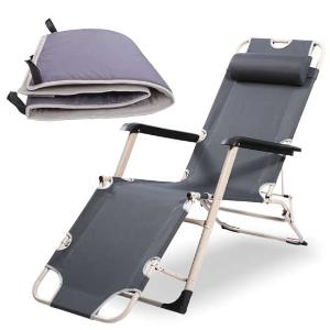创悦加棉加长折叠躺椅5876