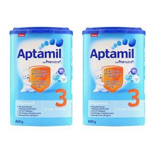 2件装-爱他美(Aptamil) 婴儿配方奶粉3段800g
