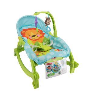 费雪W2811婴幼儿电动摇椅躺椅宝宝安抚摇椅正品益智玩具