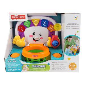 费雪X6158宝宝趣味双语投篮架儿童篮球架可升降篮球框智体发展