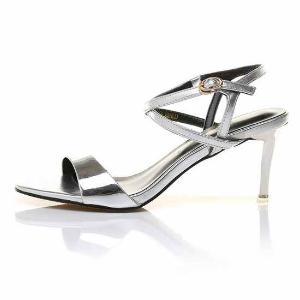 莫蕾蔻蕾夏季休闲凉鞋 高跟露趾女鞋 6X208