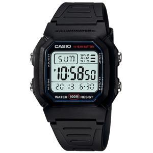 卡西欧CASIO 多功能经典学生手表 W-800H-1A