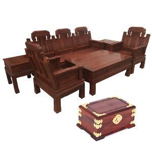 楠皇阁刺猬紫檀象头沙发(爆款)