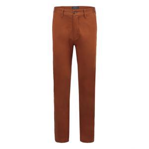 皇家棕榈马球俱乐部 男士休闲长裤中腰直筒休闲裤 83513110橙色