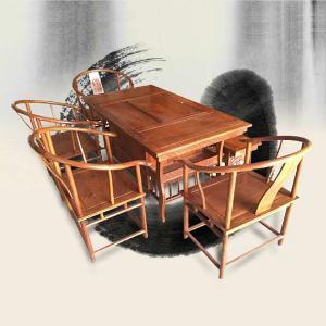 祥铭阁刺猬紫檀红木多用桌