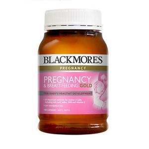 【新西兰直邮】Blackmores孕妇黄金营养素180粒哺乳期含叶酸DHA