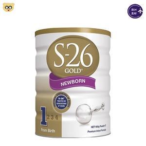 (3罐装)新西兰S26 惠氏婴儿奶粉一段900g