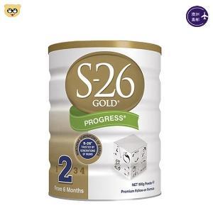 (3罐装)新西兰S26 惠氏婴儿奶粉二段900g