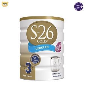 (3罐装)新西兰S26 惠氏婴儿奶粉三段900g