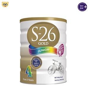 (3罐装)新西兰S26 惠氏婴儿奶粉四段900g