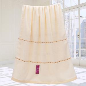 VIPLIFE全棉浴巾 加大加厚洗水性强纯棉浴巾70*140CM