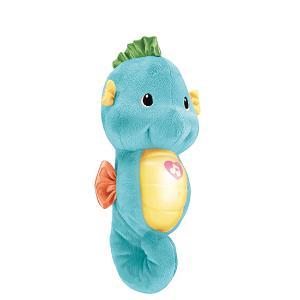 费雪DGH82安抚小海马音乐胎教玩偶婴儿玩具0-12个月