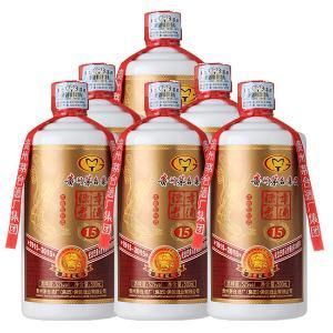 贵州茅台集团陈年老酒15百年纪念浓香型白酒500ML*6瓶