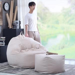 懒人沙发 创意单人榻榻米拆洗电脑椅阳台懒骨头布艺沙发床