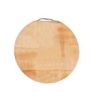 龙之艺加厚砧板竹菜板整竹子水果砧板大圆形双面切菜板家用yx-001