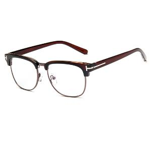 缦缦集 复古文艺平光镜学院风清新眼镜架开球眼镜