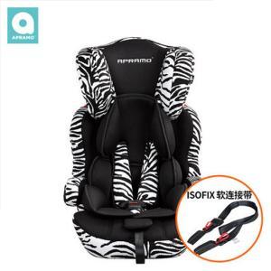 英国apramo安途美hestia汽车儿童安全座椅9个月-12岁配Isofix