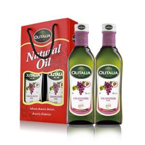 奥尼意大利葡萄籽油500ml*2