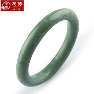 左传 圆条复古贵州玉手镯 玉石手镯 经典圆形手