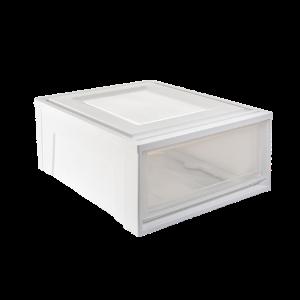 黑凤梨 抽屉式透明储物柜
