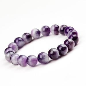 老馮記天然紫水晶夢幻世界單圈手鍊女款10mm