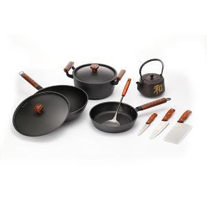 章砚铁铺经典铸铁锅