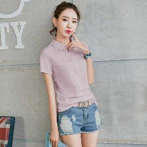FENGMI夏季女士T恤新款短袖襯衫88876