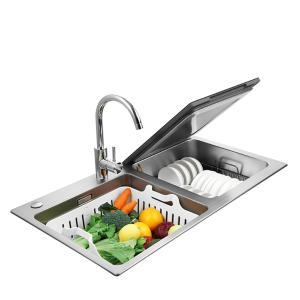 方太(FOTILE)水槽洗碗機家用嵌入式超聲波洗果蔬三合一 6套2-6口之家 30餘件餐具JBSD2T-X1S
