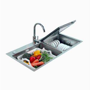 方太(FOTILE)嵌入式超聲波海鮮水果清洗水槽洗碗機JBSD2F-X5S