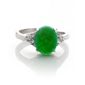 戴斯夢德翠綠滿園戒指