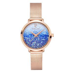 Pierre Lannier/连尼亚 女士施华洛世奇星钻满天星石英手表渐变时尚手表