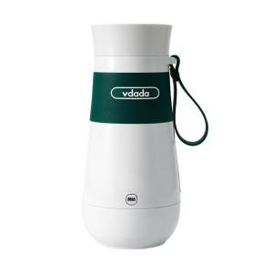 日本VDADA便携式热水壶小型旅行加热烧水保温杯【绿色】