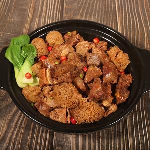 汇柒鲜锡盟猴头菇红焖羊肉