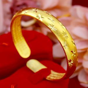 中国白银福星高照银手镯