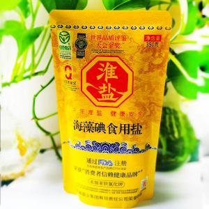 大清淮盐海藻碘食用盐D